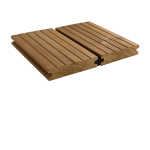 Terasos lentos iš termo medienos